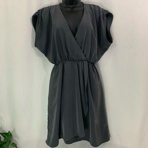 H&M DARK GREY PULLOVER DRESS